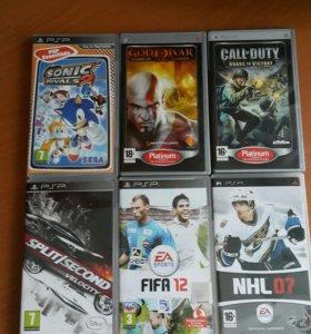 5 дисков для PSP