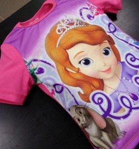 Детские футболки с мультгероями