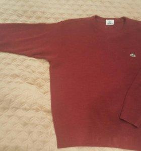 Мужской свитер Lacoste р-р 48-50 оригинал