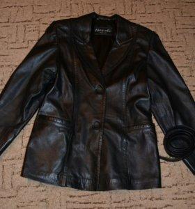 Куртка-пиджак натур.кожа 48-50