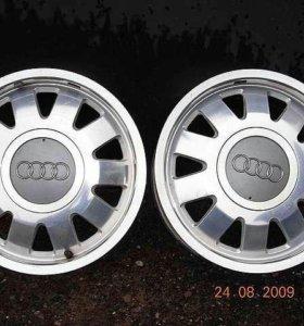 Диски с Audi