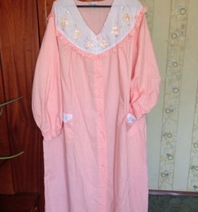 Ночная рубашка-халат 56 размер