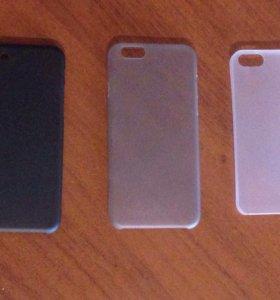 iPhone 5/5S/SE/6/7 Пластиковые чехлы