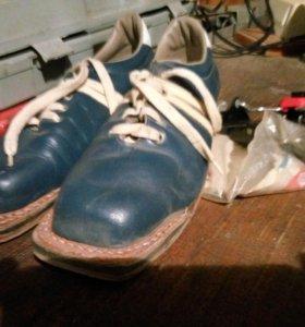 Лыжные ботинки 39 разм