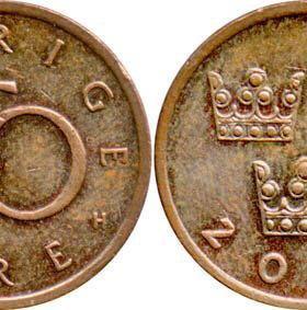 50 эре, Швеция