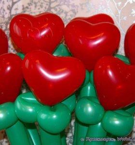 Цветок сердце
