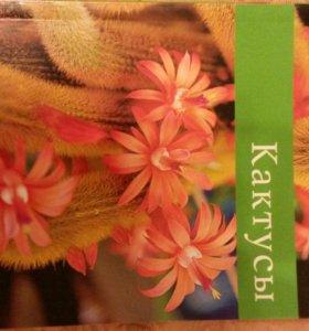 Книга уход за кактусами