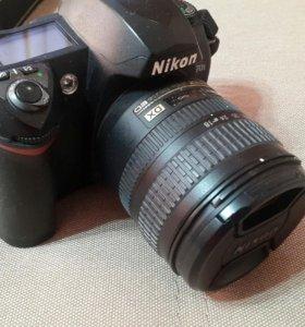 Nikon зеркальный фотоаппарат