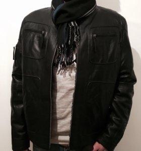 Куртка кожаная натуральная мужская .Новая.