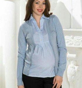 Кофта блузка для беременных 44-46