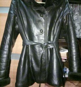 Куртка женская (иск. кожа)