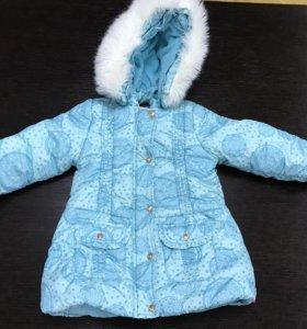 Куртка удлиненная осень-зима