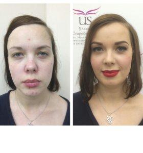 """Обучение """" макияж для себя"""""""