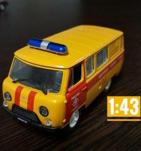 """Модель УАЗ-3909 """"Аварийная газовая служба"""""""