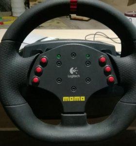 Руль игровой Момо