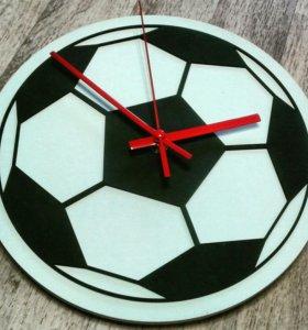 """Настенные часы """"футбол """""""
