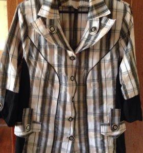Нарядная блузка 54-56