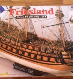 Макет корабля Friesland 1663г. (Итал