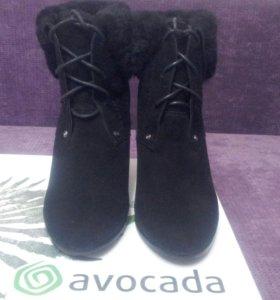 Новые  ботинки avocada размер 36