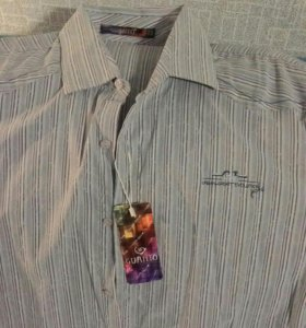 Рубашка муж. Новая. стрейч