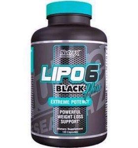 NUTREX LIPO 6 BLACK HERS 120 КАПСУЛ