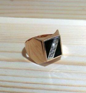 Перстень золотой СССР