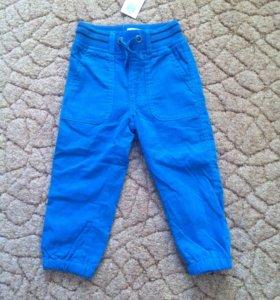 Новые вельветовые брюки р 86