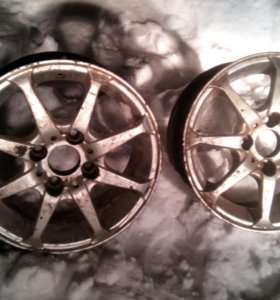 2 литых диска