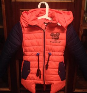 Куртка для девочки 6-7 лет.