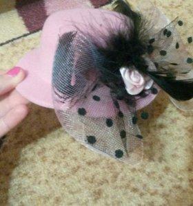 Шляпка дамская