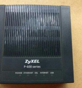 ADSL Модем ZyXEL P660RU3