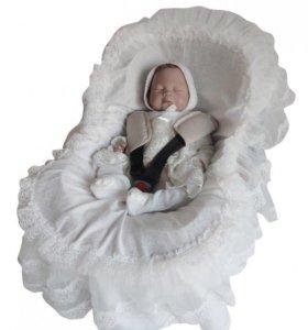 Кружева для автокресла для новорождённых