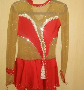 Платье для фигурного катания 6-8 лет