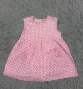 Платье размер 74 см хлопок