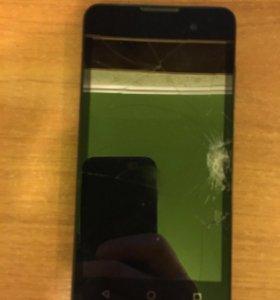 Сломанной телефон
