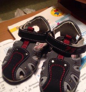 Новые сандали!