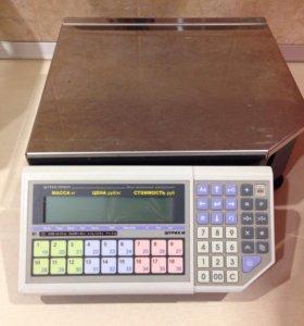Весы штрих-принт фi 15-2.5 (Б/У)