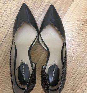 Новые туфли Zara
