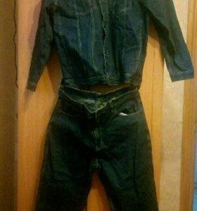 Костюм джинсовый новый (рабочий)