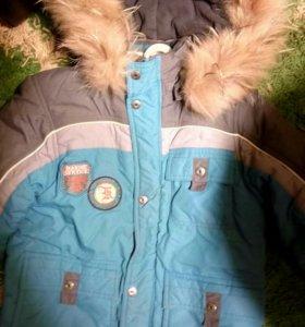 Детская куртка 5-6лет