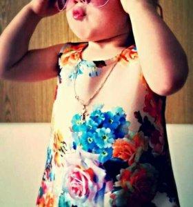 Детское платье 3д