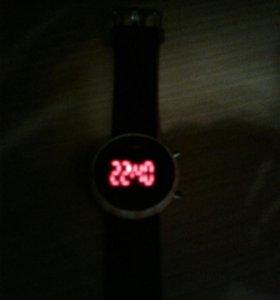 Как советская электроника LED часы наручные