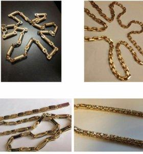 Кольца,серьги,кресты,цепи
