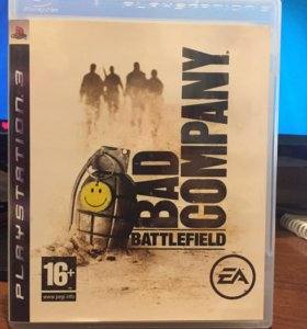 Battlefield bad company игра для ps3