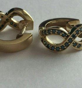 Серьги,кольца