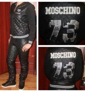 Moschino новый костюм стеганый