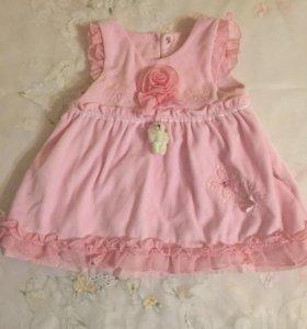 Платье детское - сарафан на 9 мес.