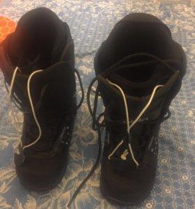 Ботинки сноубордические женские/подростковые