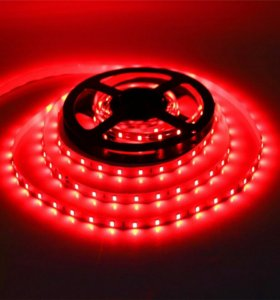Светодиодная лента красная 2835 smd led red