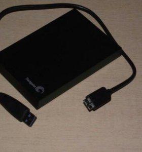 USB здесь: hdd 500Gb Seagate